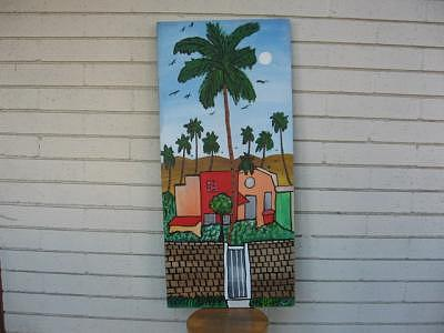 Palm Spring Mall Painting by Duncan Roseme