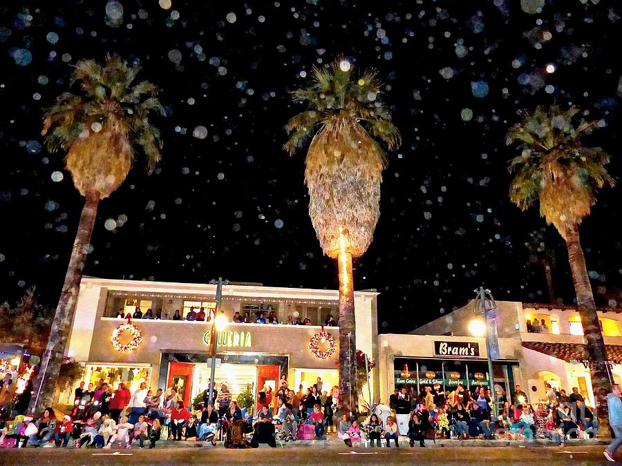 Holiday Parade Photograph - Palm Springs Holiday Parade 2015 by Corlyce Olivieri