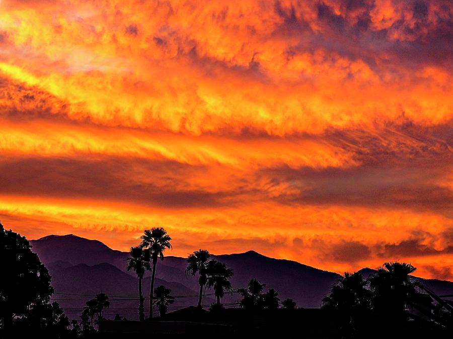 Palm Springs Sunset Photograph