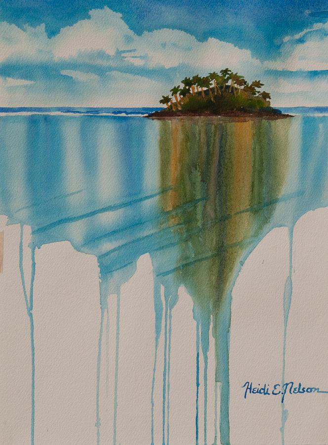 Palm Tree Drip II by Heidi E Nelson