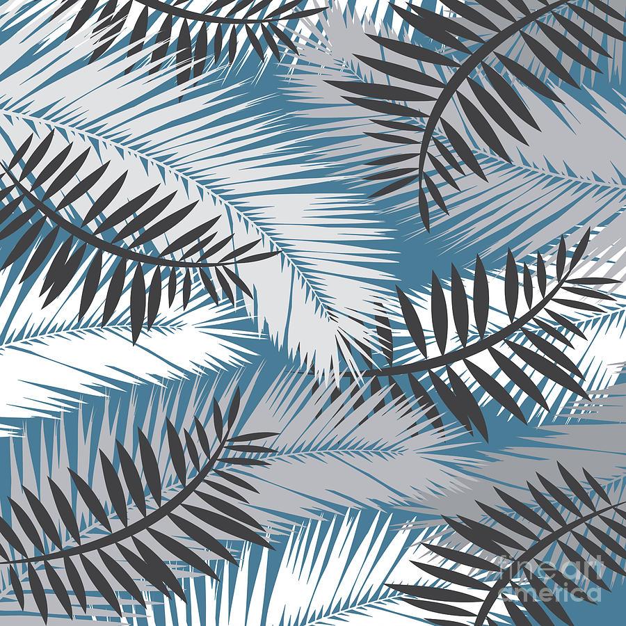 Summer Digital Art - Palm Trees 10 by Mark Ashkenazi