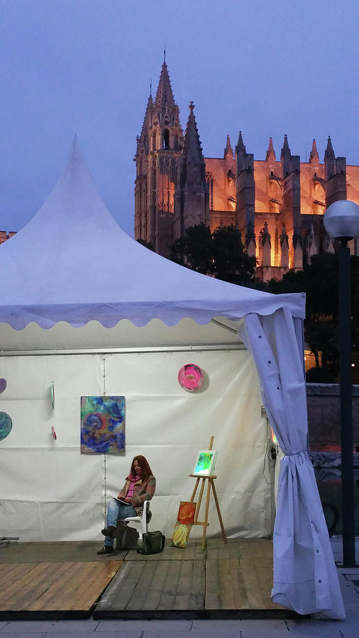 Palma  art tent by Eva Konya