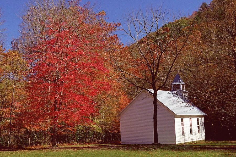 Church Photograph - Palmer Chapel by Alan Lenk