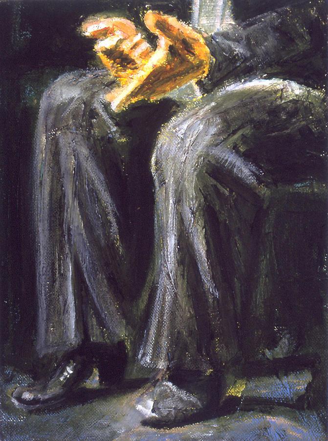 Flamenco Painting - Palmero by LB Zaftig