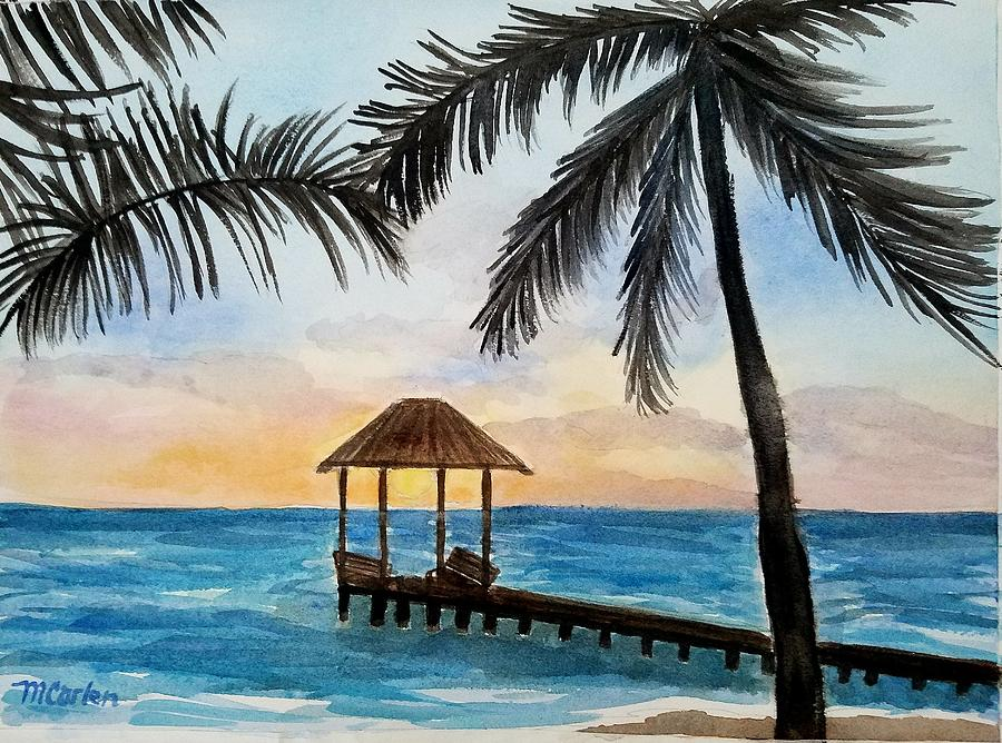 Palms in Paradise by M Carlen