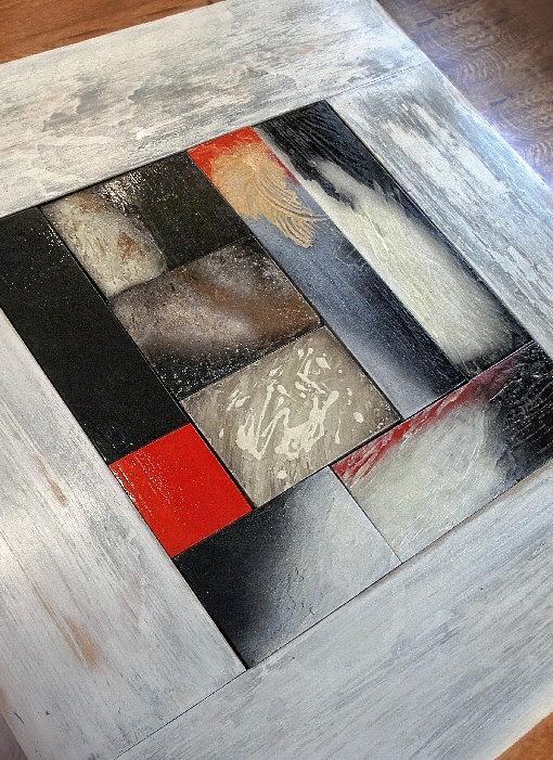 Coffee Table Mixed Media - Paloma Coffee Table by Alejandra Solett