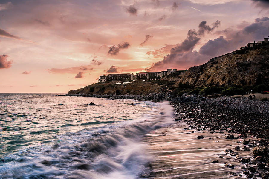 Landscape Photograph - Palos Verdes Sunset by Seascaping Photography