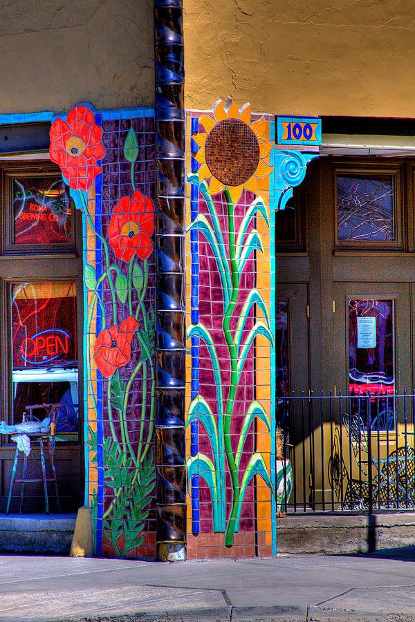 Storefront Photograph - Palouse Cafe by David Patterson