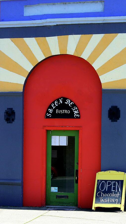 Houses Photograph - Palouse Door by Sarah Hamilton
