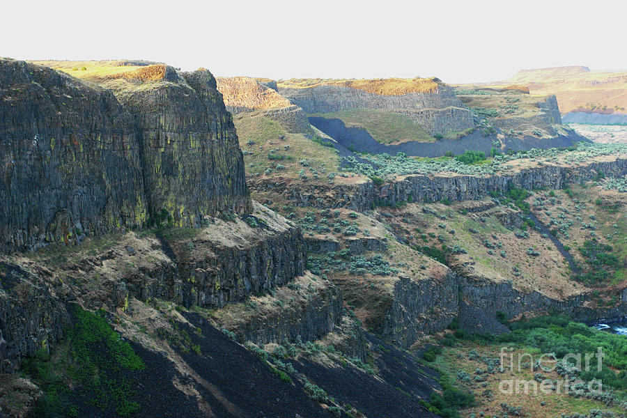 Palouse River Canyon Buttes by Rich Collins