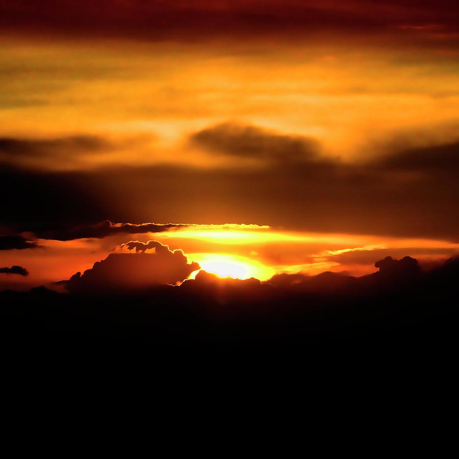 Sunset Photograph - Palouse Sunset by David Patterson