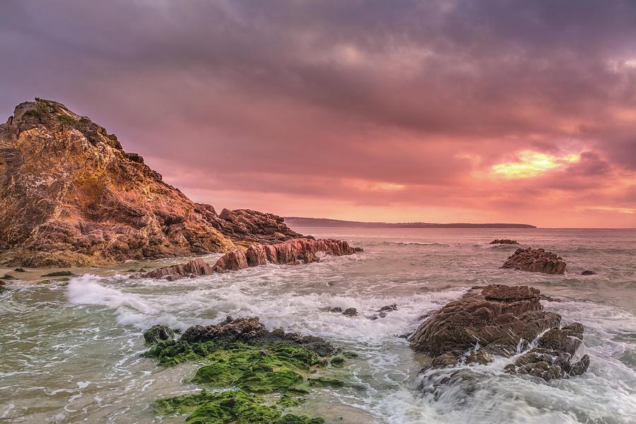 Pambula Rocks Photograph