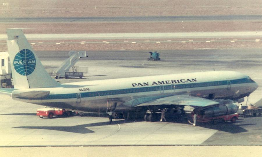 Pan Am 707-321 at Los Angeles International Airport by Jamie Baldwin