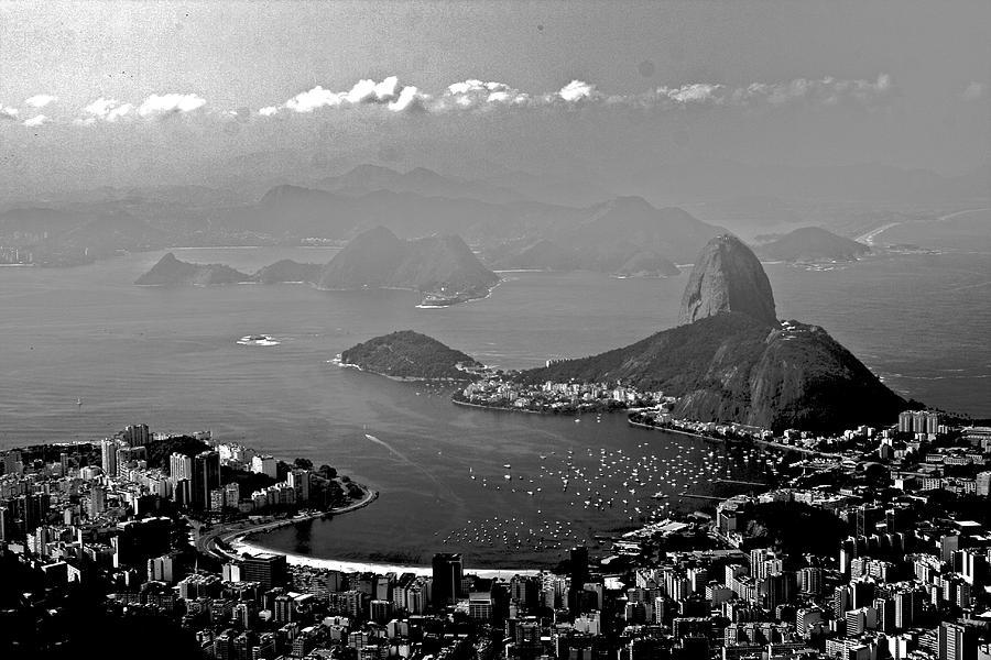 Black And White Photograph - Pan De Azucar by Miranda  Miranda
