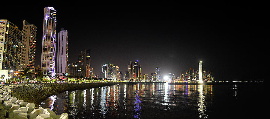 Panama City Night by William Arenas