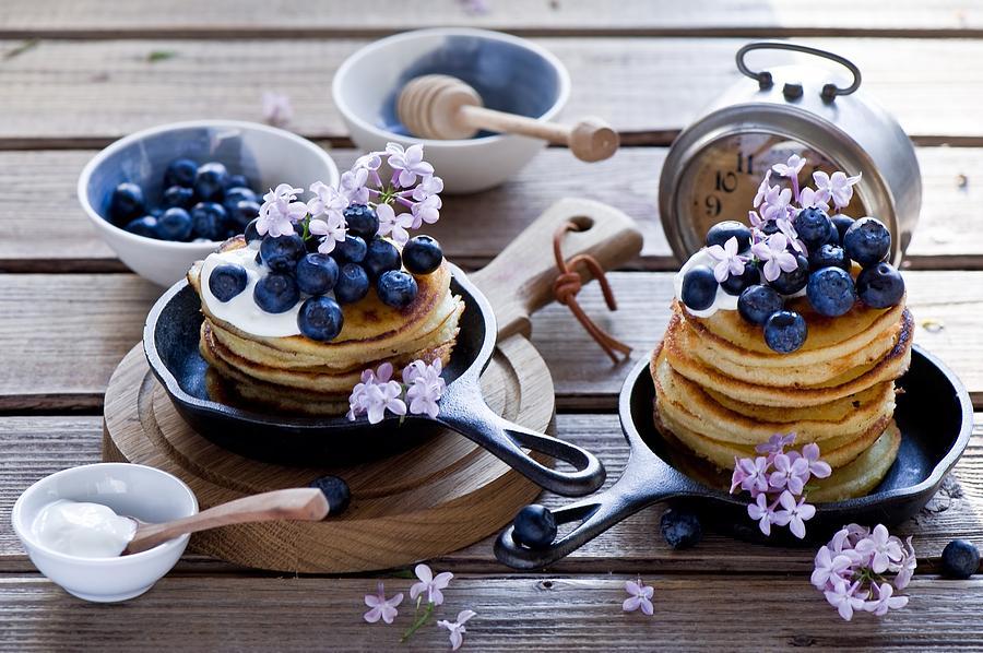 Pancake Digital Art - Pancake by Dorothy Binder