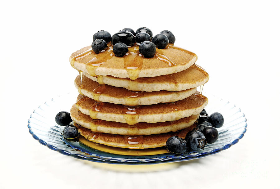 Pancakes Photograph - Pancakes by Glennis Siverson