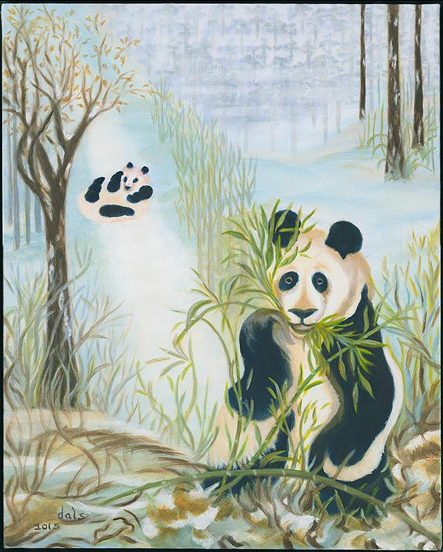 Panda Fun by Douglas Ann Slusher