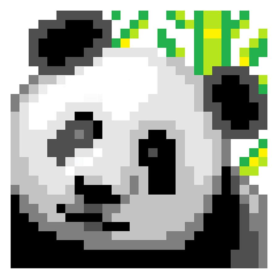 Panda Digital Art - Panda by Gerald Lynch