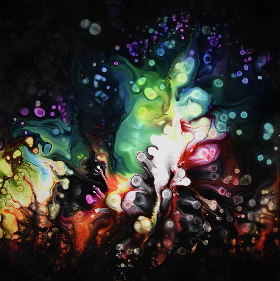 Abstract Painting - Pandimensional by Dion Kurczek