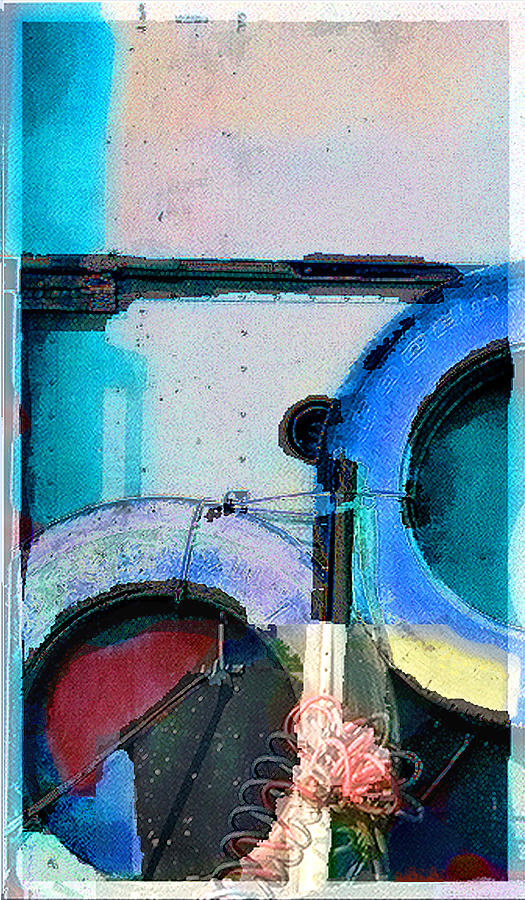 Abstract Photograph - panel three from Centrifuge by Steve Karol