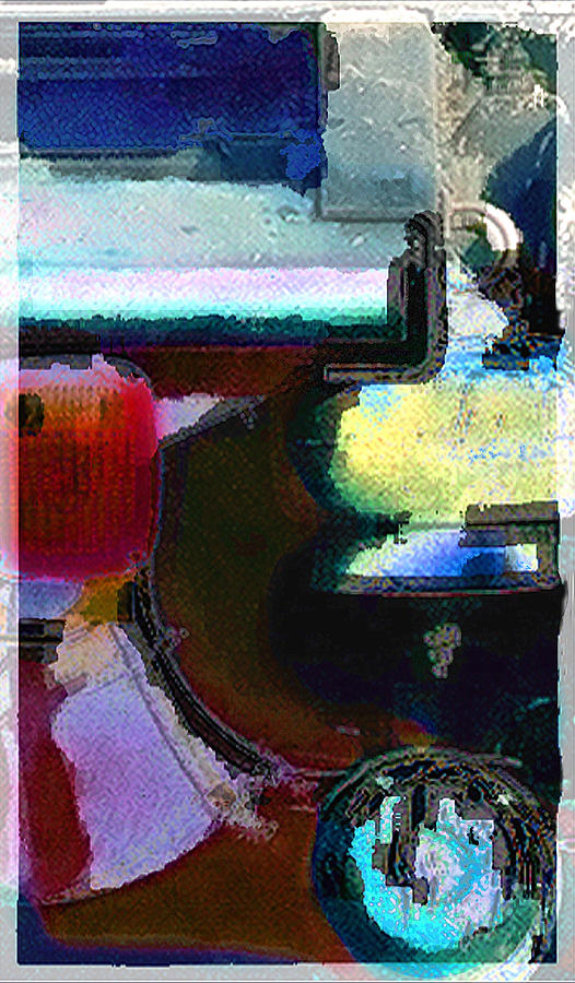 Abstract Photograph - panel two from Centrifuge by Steve Karol