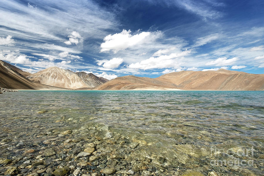 Pangong Lake  by Yew Kwang