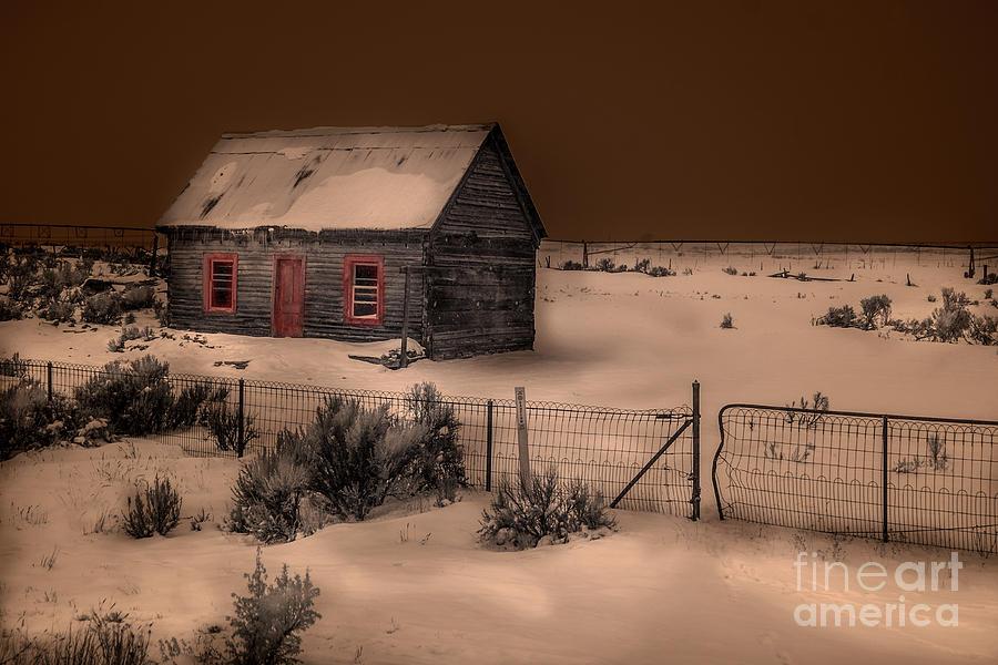 Panguitch Homestead by William Fields