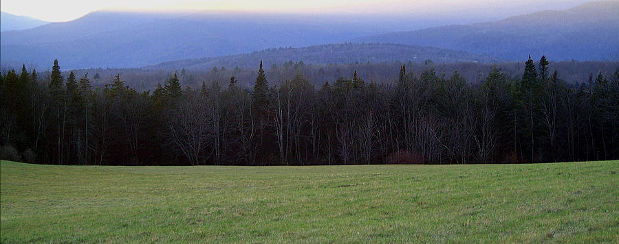 Panoramic Nature Photograph by Robert Ruscansky