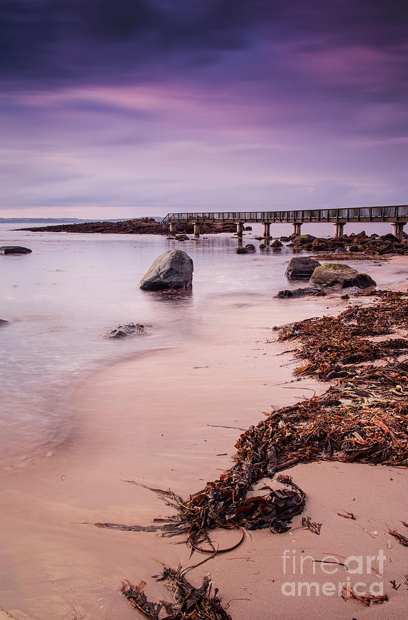 Pans Rocks Beach by David Lichtneker