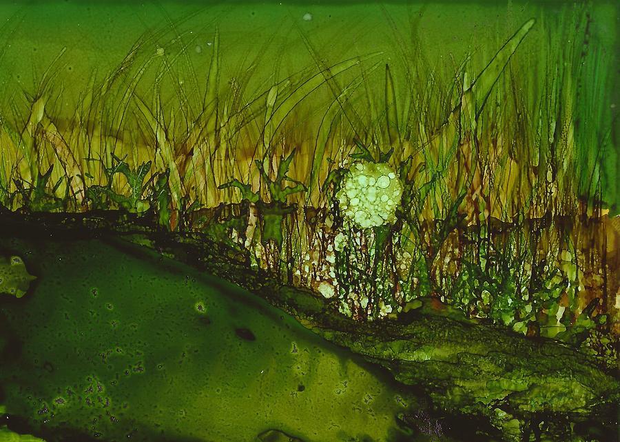 Marsh Painting - Pantanal by Joy Dorr