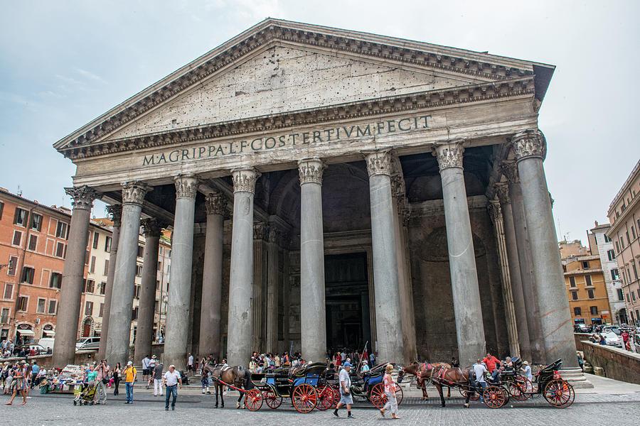 Italia Photograph - Pantheon by Joseph Yarbrough