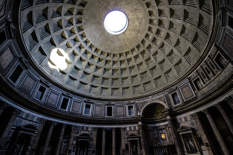 Pantheon Photograph - Pantheon by Nicklas Gustafsson