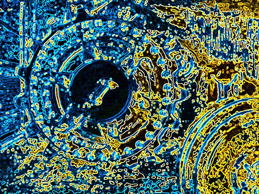 Armor Photograph - Panther Wheel Abstract by Ben Freeman