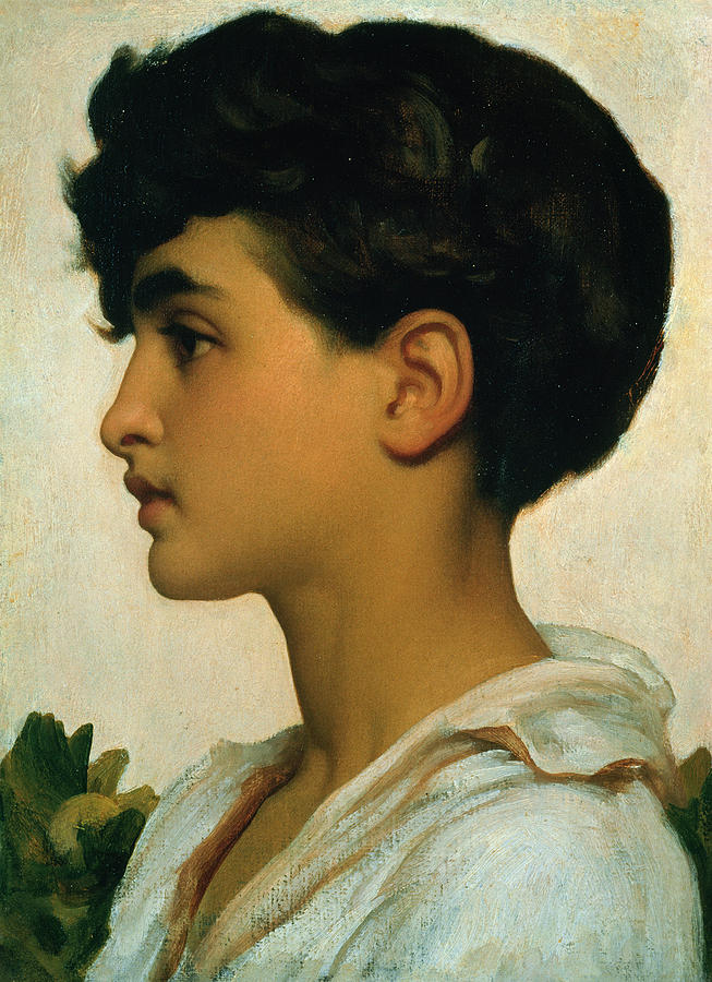 Paolo Painting - Paolo by Frederic Leighton