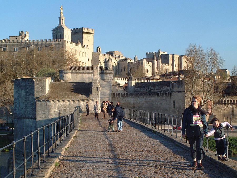 Avignon Photograph - Papal Palace Avignon by Charles  Ridgway
