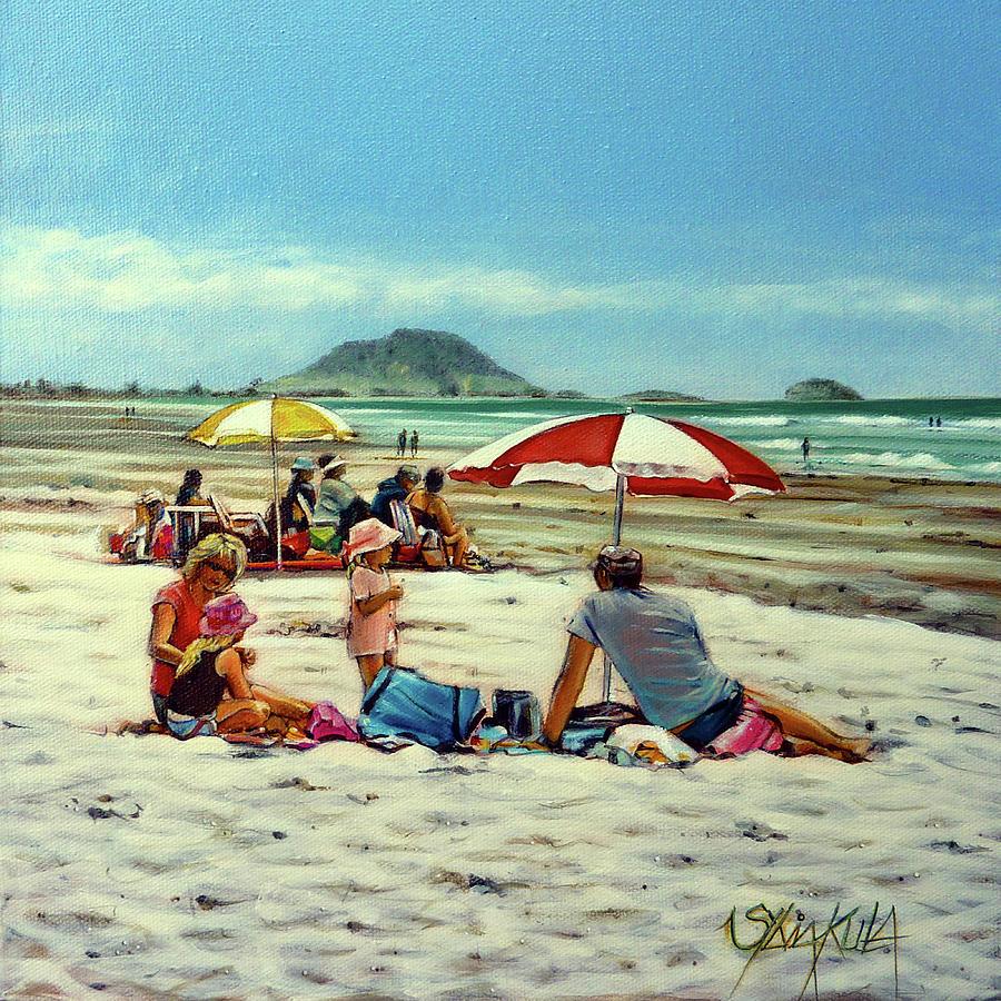 Papamoa Beach 150309 by Sylvia Kula
