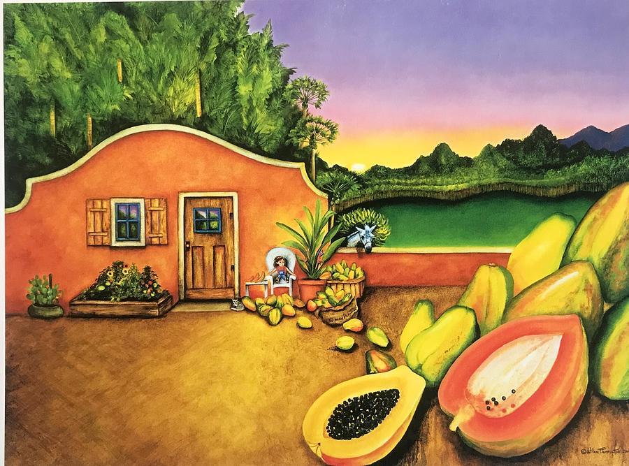 Papaya Maya by William T Templeton