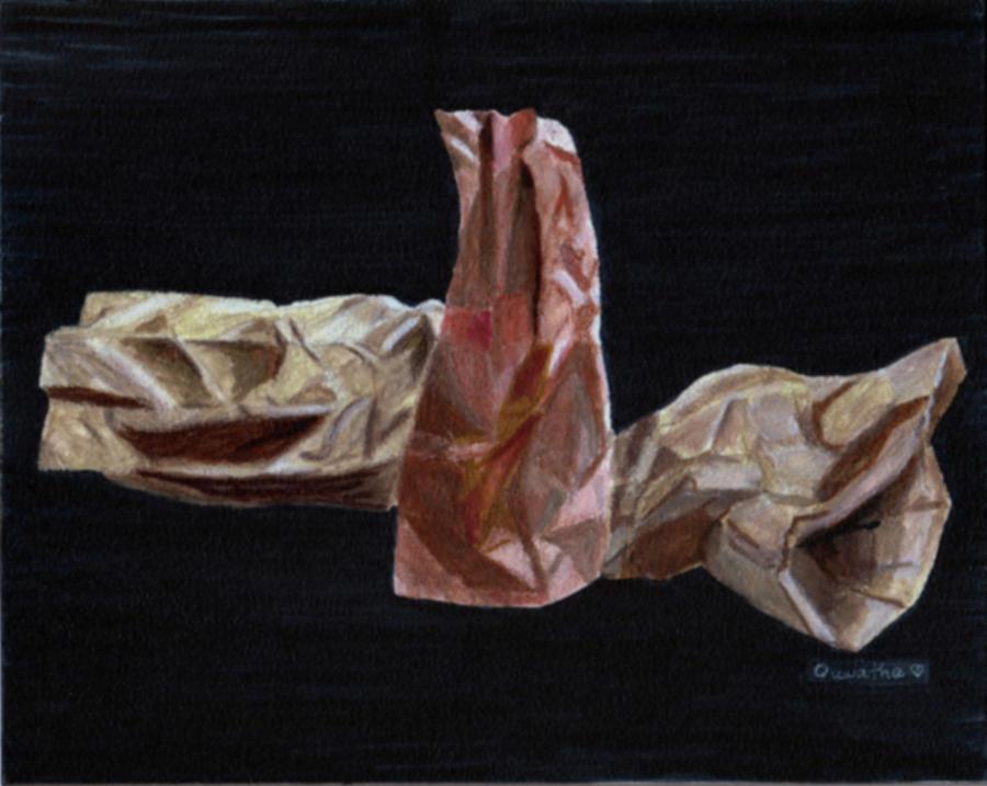 Paper Bags by Quwatha Valentine