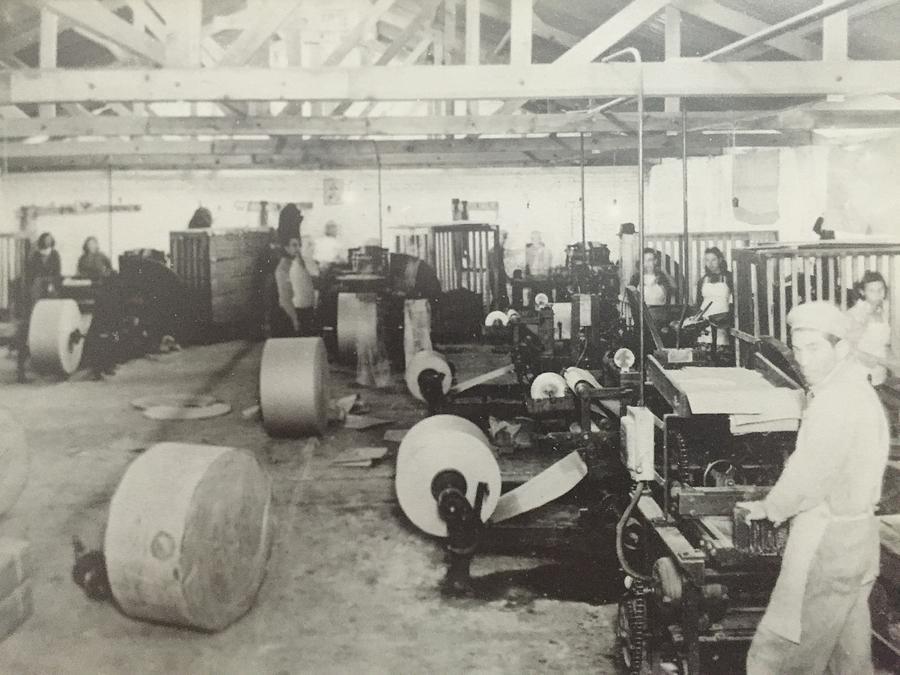 Paper Mill Photograph - Paper Mill by Rodrigo Maldonado