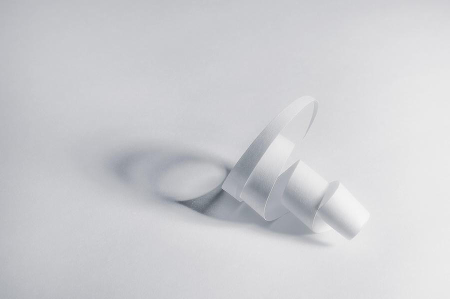 Paper Spiral Photograph