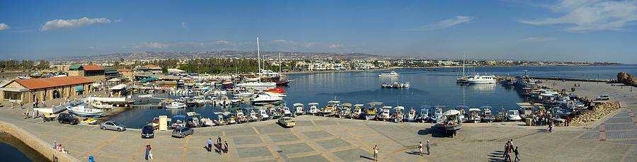Harbour Photograph - Paphos Harbour by Donald Buchanan