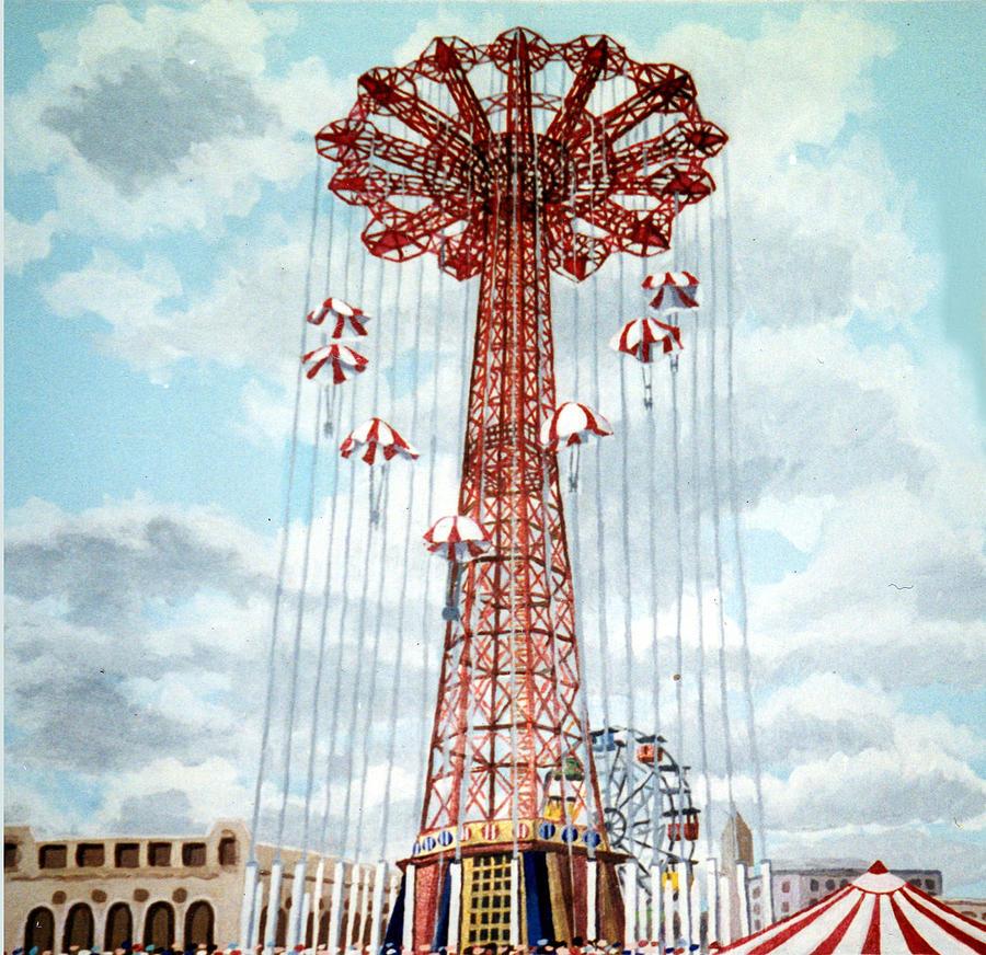 Parachute Jump Coney Island New York