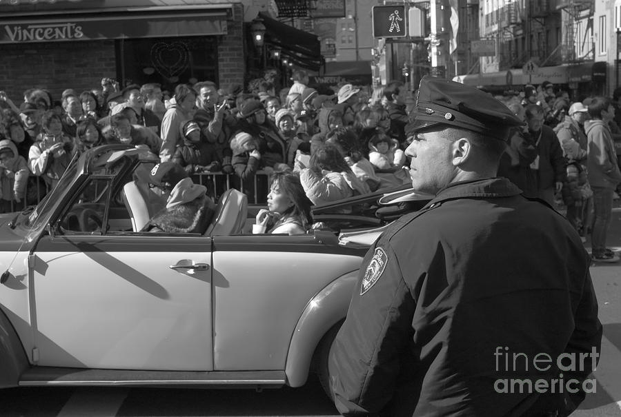 Auto Photograph - Parade Security by Clarence Holmes