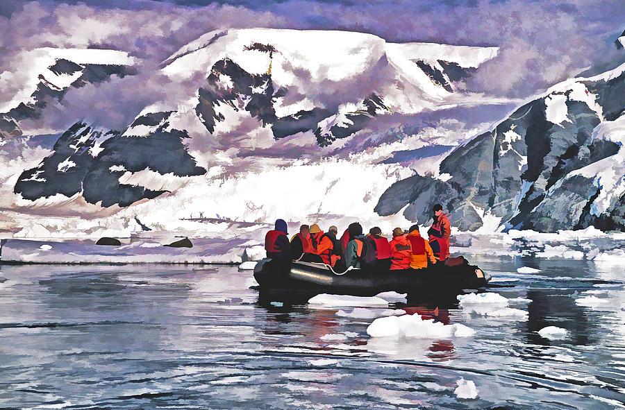 Antarctica Photograph - Paradise Bay  by Dennis Cox