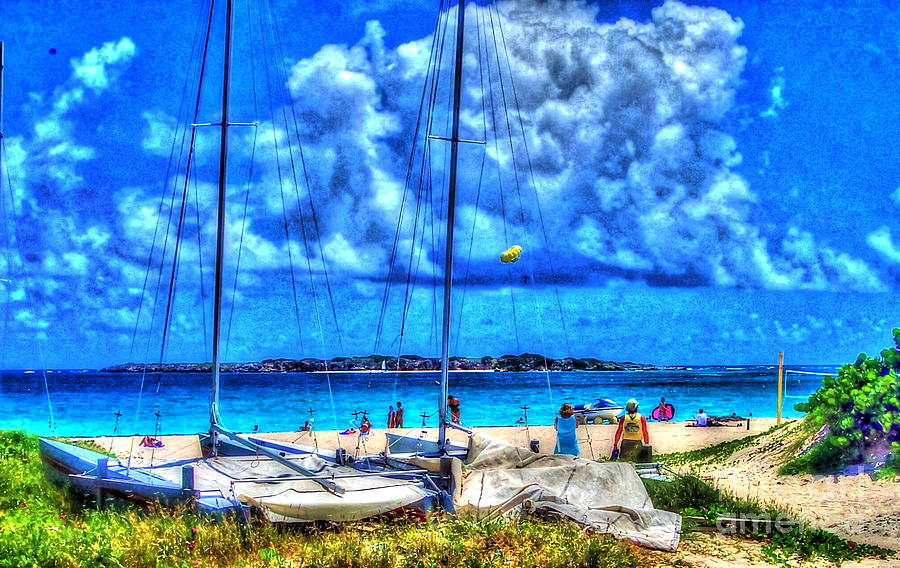 Blue Photograph - Paradise by Debbi Granruth