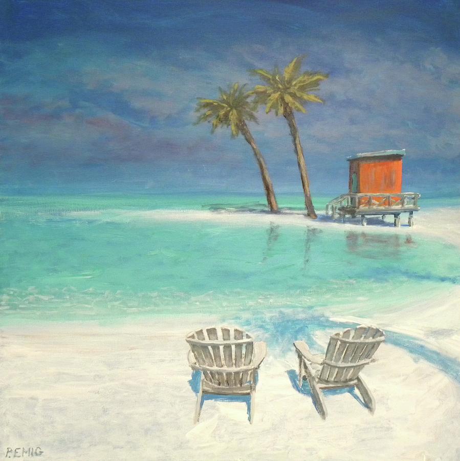 Beach Painting - Paradise Dream by Paul Emig