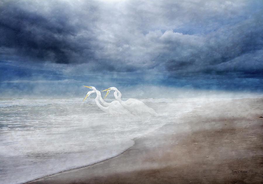 Knapp Digital Art - Paradise Dreamland  by Betsy Knapp