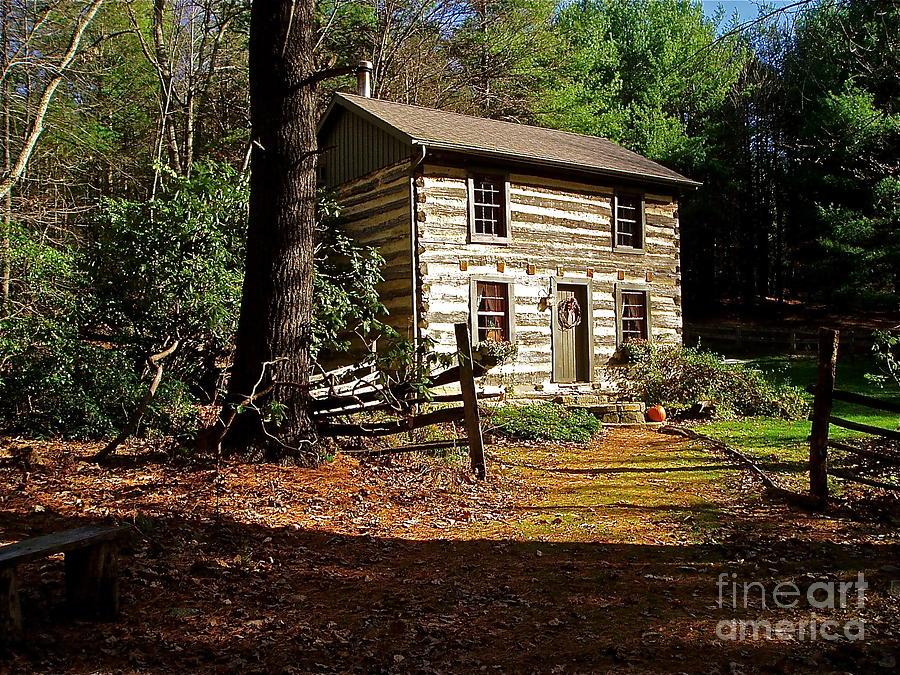 Cabin Photograph - Paradise by E Robert Dee