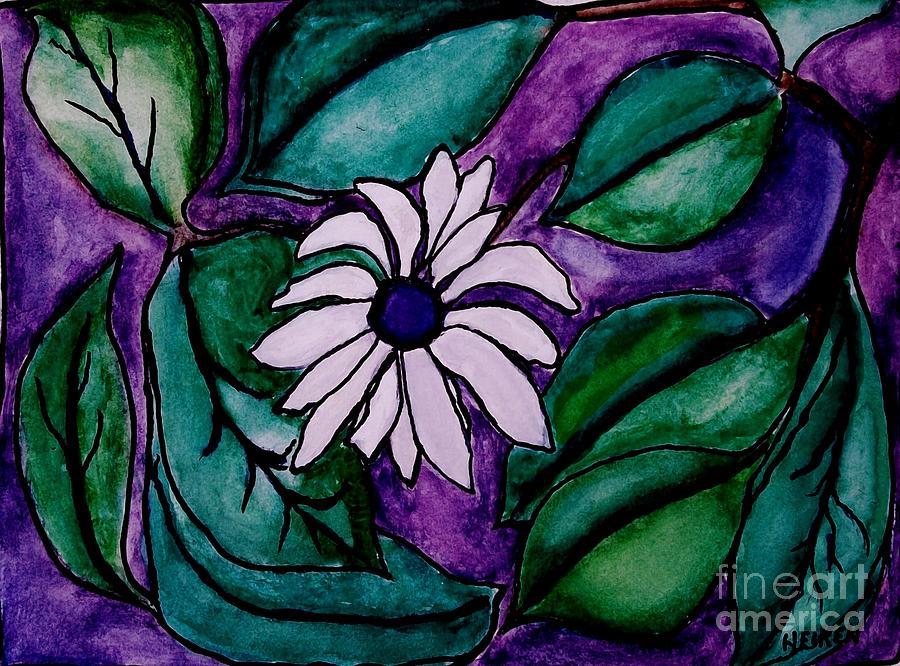 Painting Digital Art - Paradise Flower by Marsha Heiken